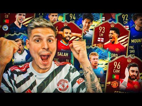 +9 MILLONES EN EL MISMO SOBRE!!!   RECOMPENSAS FUT CHAMPIONS TOTS PREMIER!!   FIFA 21
