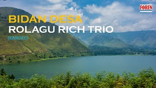Lagu Batak Terbaru - Bidan Desa Rolagu Rich Trio | Karoke |