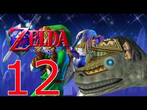 The Legend of Zelda Ocarina of Time 3D|Part 12|Lord Jabu-Jabu