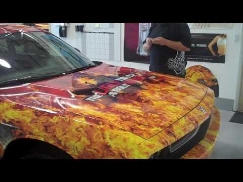 The Ugly Truth About Money Car Wrap With Fire And Ripped