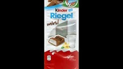 Ferrero-Kinder-Riegel-Mini-Tüte-2016 - Love Brands Punkte