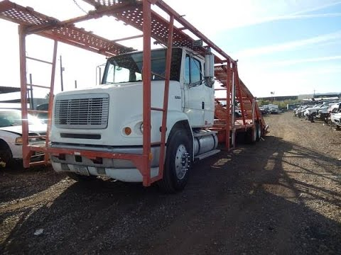 1996 Freightliner Fl112 5 Pack Car Hauler For Sale Youtube