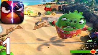 ANGRY BIRDS EVOLUTION Walkthrough Gameplay Part 1 - Chapter 1 Return of the Pigs (iOS Android)