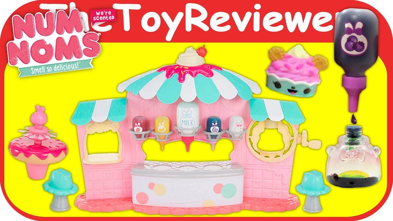 Num Noms Nail Polish Maker Playset Froyo Scented Glitter Color ...
