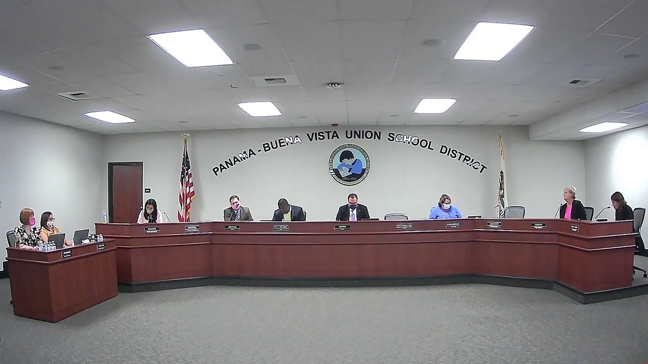 P-BVUSD Board Meeting 9-8-2020