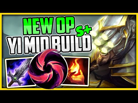 HOW TO PLAY MASTER YI MID + NEW OP BUILD/RUNES - Master Yi Commentary Guide - League Of Legends
