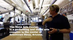 Overview of the Mesa Arts Center (Mesa, Arizona)