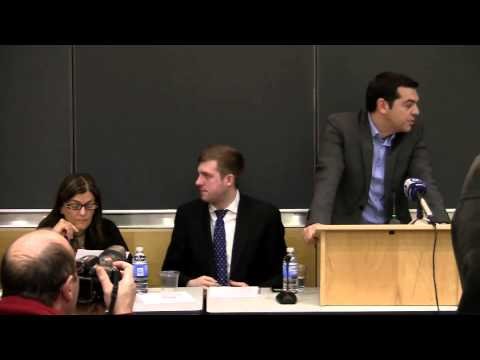 An Evening with Syriza: On Greece and the Eurozone - Part 1