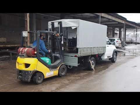 Полторы тонны в УАЗ Профи (рабочий материал)
