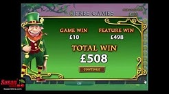 Incredible £508 Win - Free Games Bonus - Plenty O'Fortune Online Slots Review