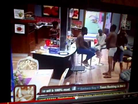 nigerian big brother: hot slap!
