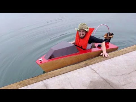 Mini Boat  First Launch