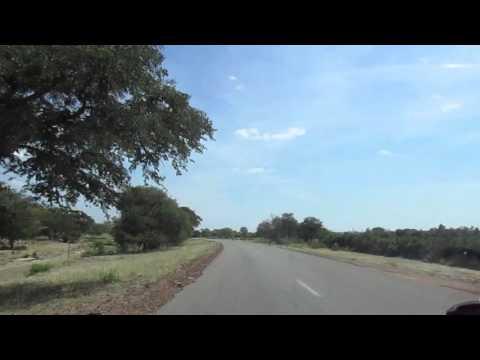 Bulawayo to Victoria Falls, near Hwange.