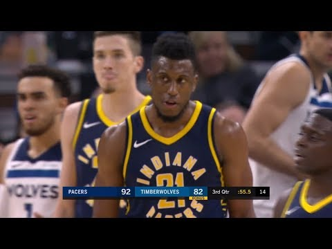 Indiana Pacers vs Minnesota Timberwolves Full Game Highlights October 24 2017