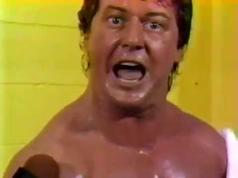 Roddy Piper Post-Match Interview (10-04-1986)