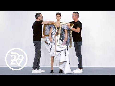 Fashion Is LITERALLY Art For Viktor & Rolf | Fashion Films | Refinery29