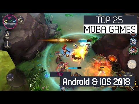 Top 25 BEST MOBA Games For iOS & Android in 2018