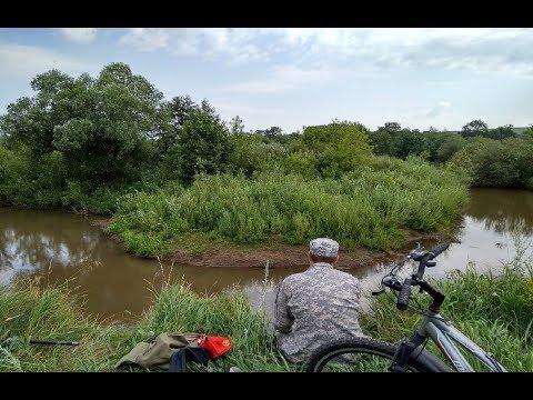 Рыбалка на малой реке, ловим пескаря и не только ....