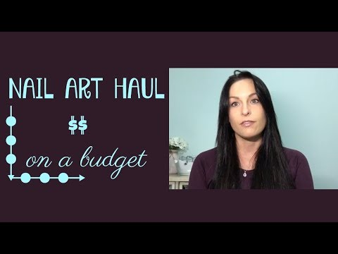 Nail art haul on a budget from eBay *long* for inexpensive art supplies