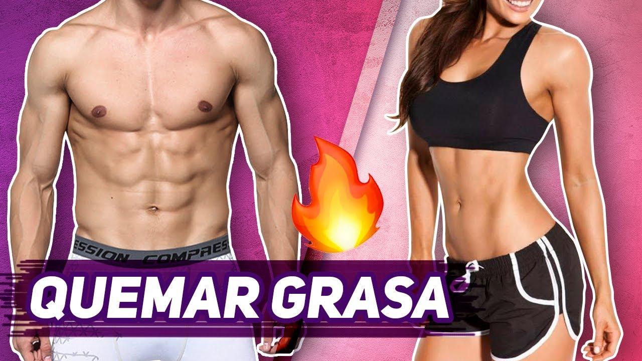 Ejercicios abdominales para quemar grasa
