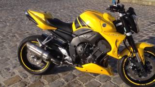Yamaha FZ1 avec Mivv Suono sans DB Killer