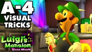 Luigi's Mansion Dark Moon - Gloomy Manor - A-4 Visual Tricks (Nintendo 3DS Gameplay Walkthrough)