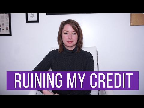 How I Ruined My Credit in Three Months