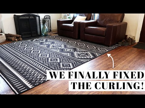 HOW TO FIX RUGGABLE CURLING | We finally found a solution!