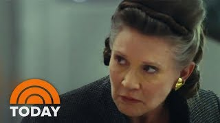 'The Last Jedi' Video Includes A Look At The Late Carrie Fisher | TODAY