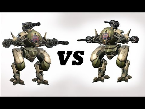Pursuer (punisher) Vs Pursuer (molot) Test | War Robots ...