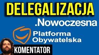 Delegalizacja Platformy Obywatelskiej i Nowoczesnej - Jest OFICJALNY WNIOSEK - Analiza Komentator
