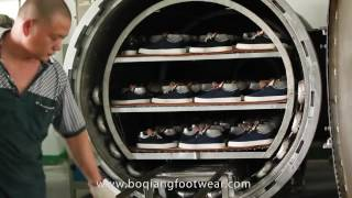 How vulcanized shoes are made