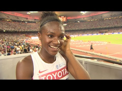 WCH 2015 Beijing - Dina Asher Smith GBR 200m Final 5th
