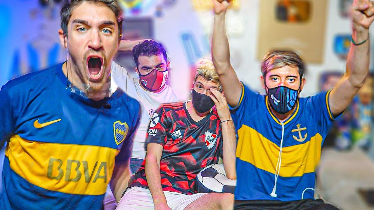 Reacciones de Amigos | Newell's vs Boca | Copa de la Liga 2021