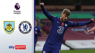 Werner krönt Chelsea-Sieg | FC Burnley - FC Chelsea 0-3 | Highlights - Premier League