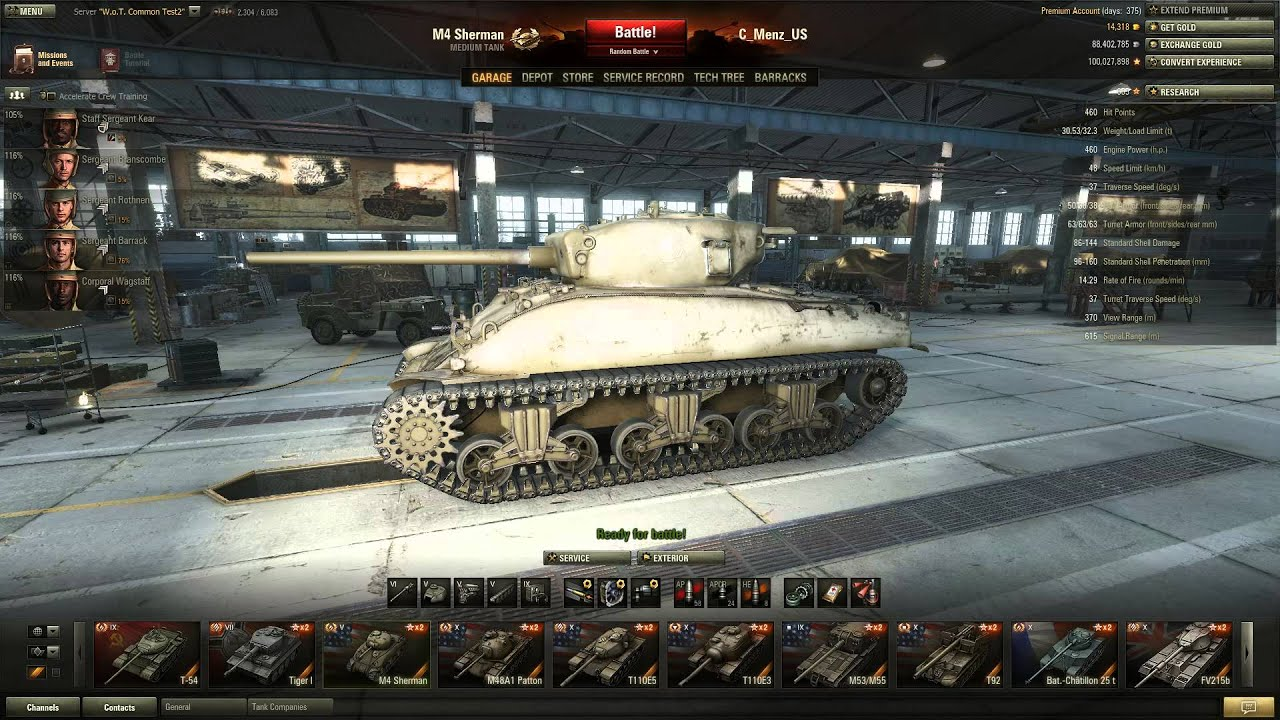 M4 Sherman Weak Spots