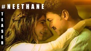 Mersal - Neethanae Song Teaser Review   Vijay, Samantha   A R Rahman   Atlee