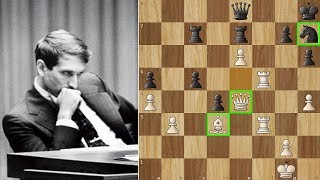 Bobby Fischer vs Boris Spassky | World Chess Championship 1972. | Game 6
