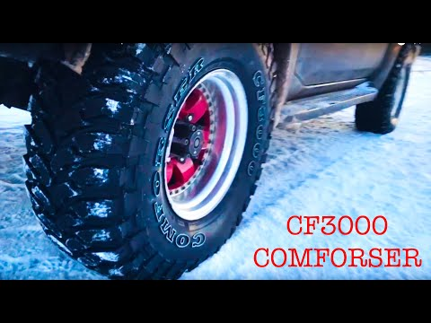 Comforser CF3000 MT отзыв о резине MT 33x12.5