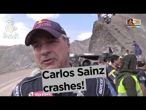 Dakar 2017 - wypadek Sainz