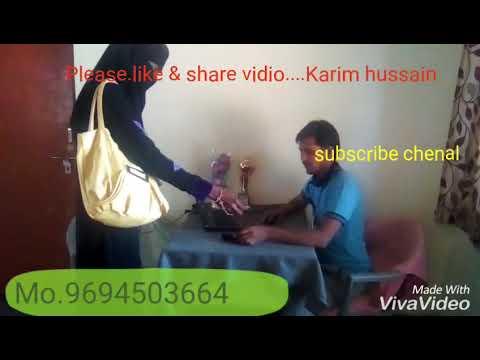 आधार  कार्ड मे भरे गाने राजस्थानी कॉमेडी करीम हुसैन मो। नम 9694503664