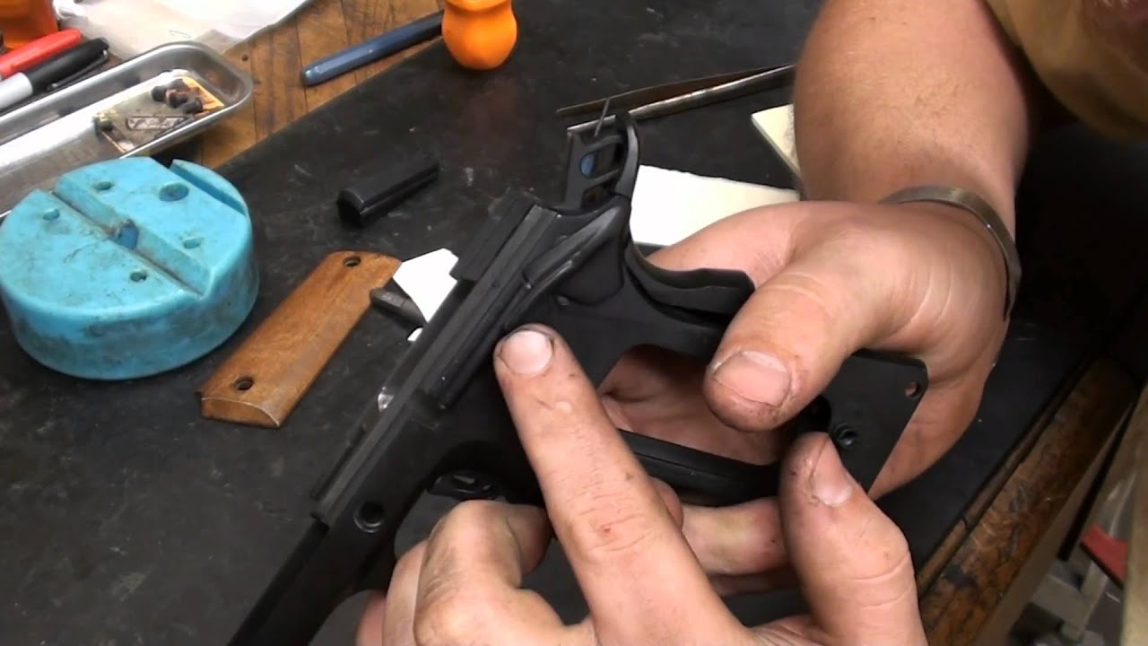 Colt 1911 Pistol Complete Disassembly Youtube Diagram Http Wwwbevfitchettus Springfield1911a1pistols Exploded