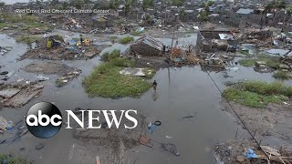 Death toll rises after cyclone drowns Mozambique