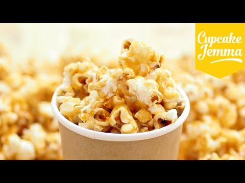 How to Make Perfect Caramel Popcorn | Cupcake Jemma