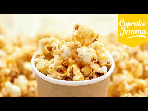 Download How to Make Perfect Caramel Popcorn | Cupcake Jemma Snapshots