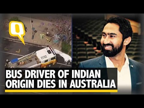 The Quint: Indian Origin Bus Driver Set on Fire and Killed in Australia