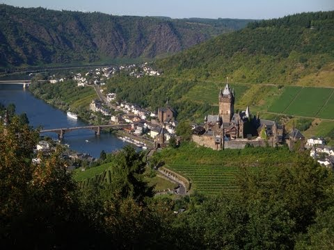 Mosel in Germany: Cochem-Mosel Holiday Region - German Moselle Valley tourism