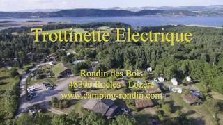 Trottinette Electrique au Rondin des Bois - Lozère - Lac de Naussac