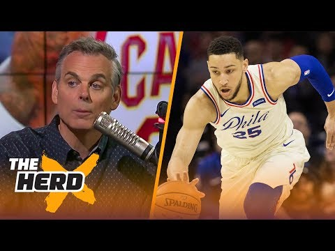 Colin Cowherd thinks Ben Simmons could be an all-time great in the NBA | THE HERD