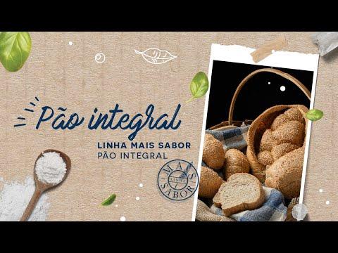 Pão Integral — Linha Mais Sabor Pão Integral